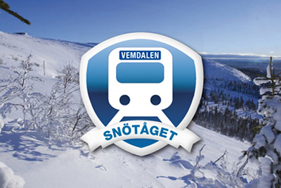 Snötåget dagligen 19 december - 19 april