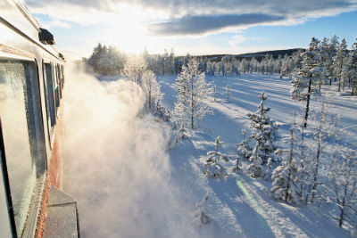 Snötåget Winter Train