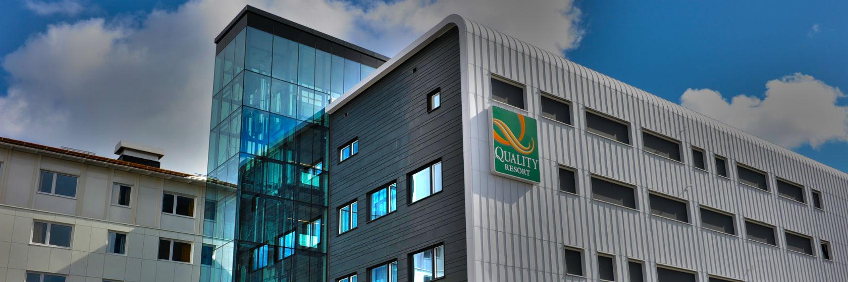 Fasaden av Quality Hotel Lapland