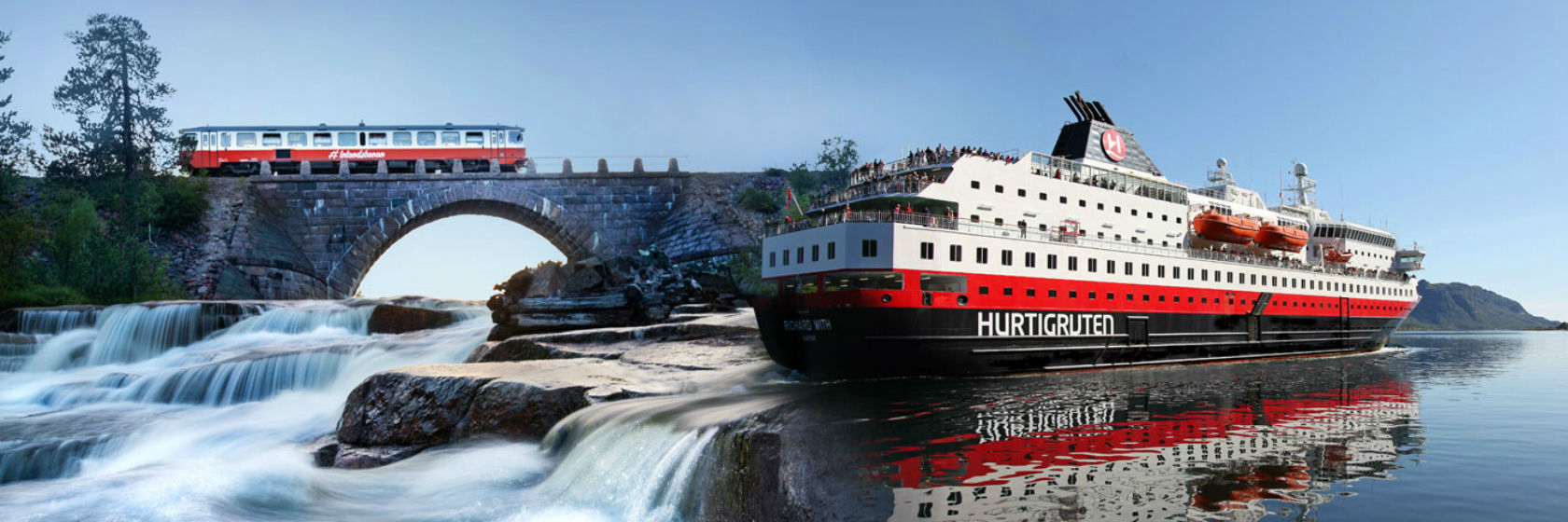 Inlandsbanan & Hurtigruten