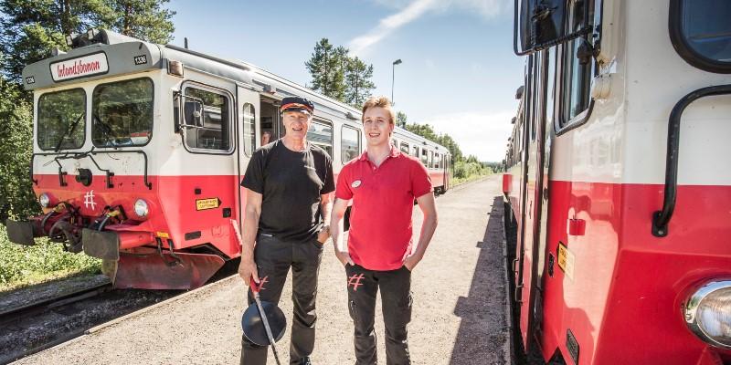 Inlandsbanan Östersund - Arvidsjaur