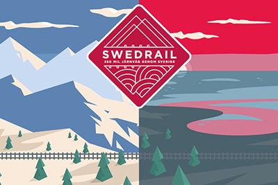 Swedrailkortet  - det nya tågluffarkortet