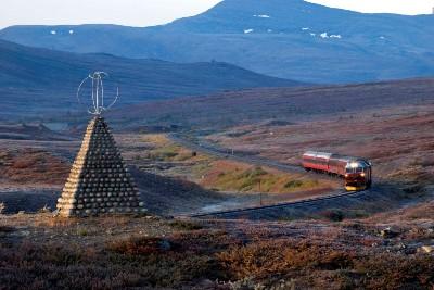 Tåg så in i Norden